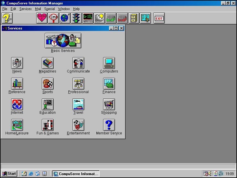 CompuServe Information Manager v1.4