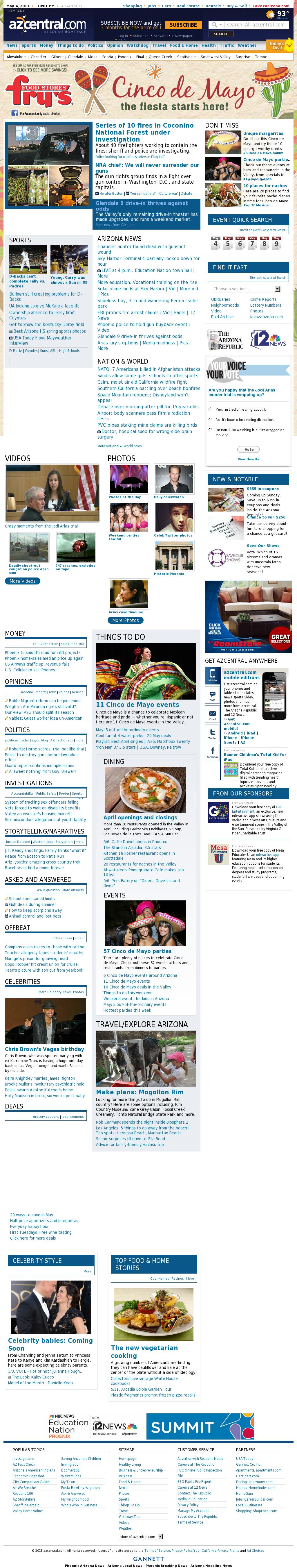 azcentral.com at Saturday May 4, 2013, 10:01 p.m. UTC