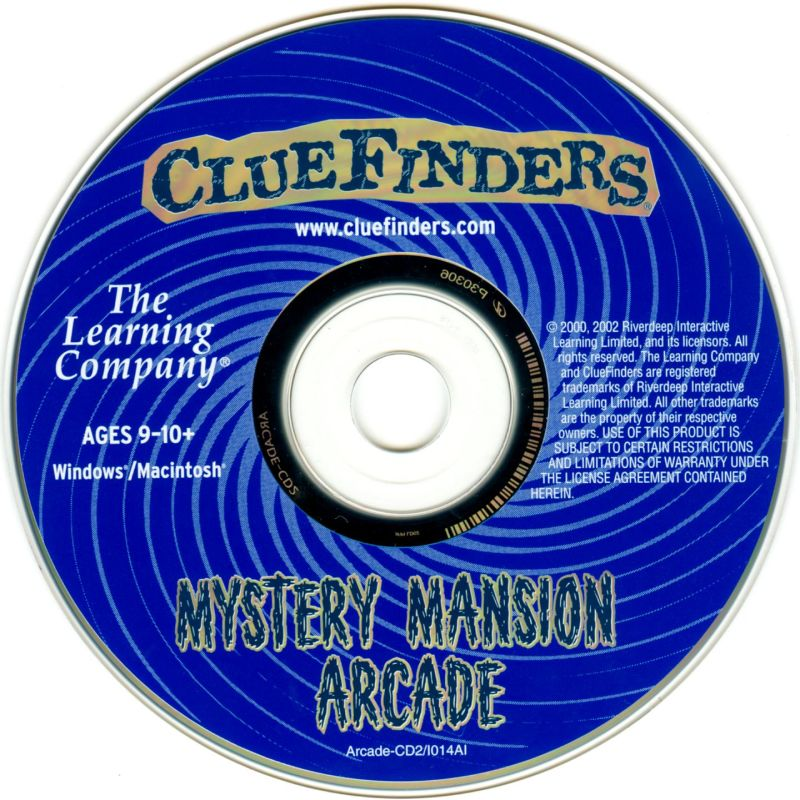 The ClueFinders: Mystery Mansion Arcade (2002)