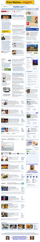 Boston.com at Wednesday April 10, 2013, 11:02 p.m. UTC