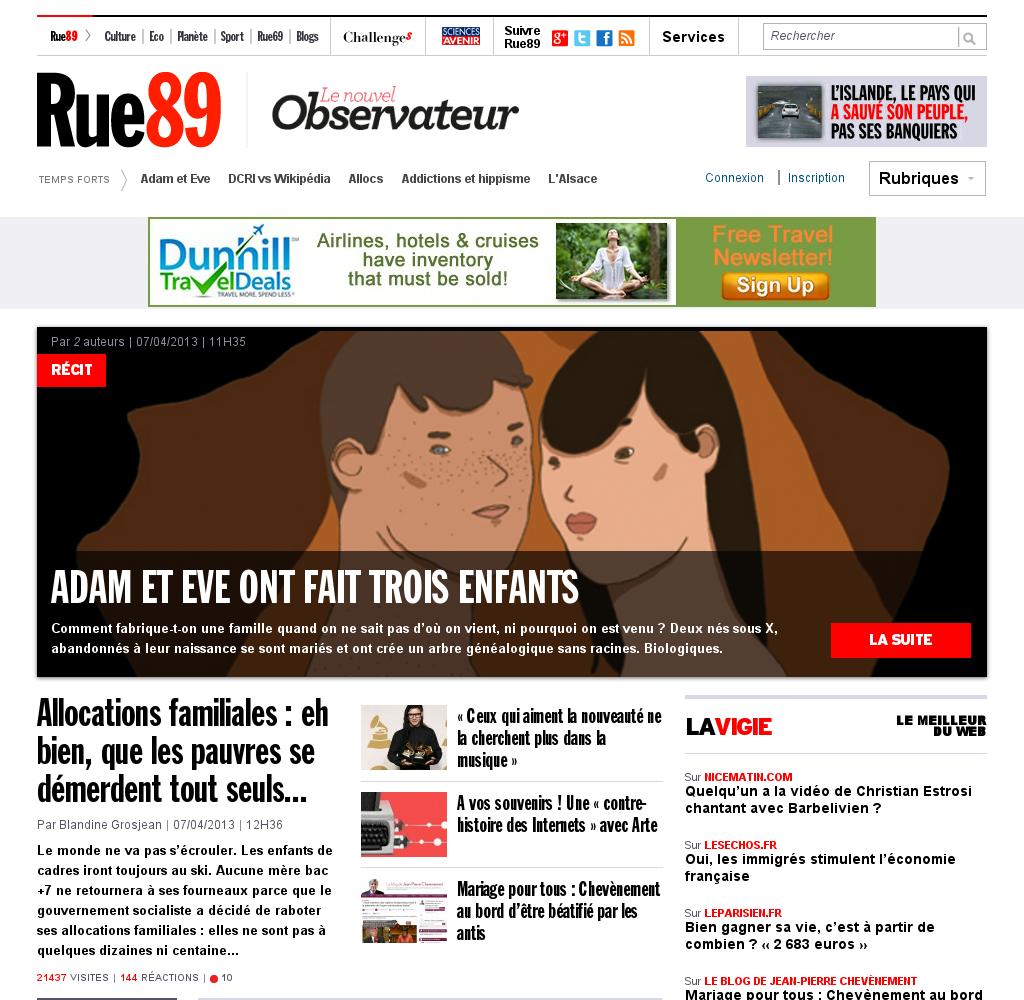 Rue 89